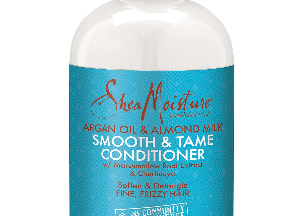 Shea Moisture Argan Oil & Almond Milk Smooth & Tame Conditioner 384ml