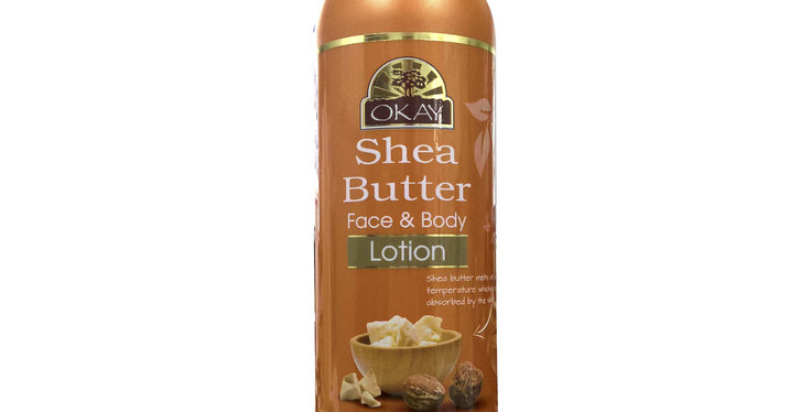 Okay Shea Butter Hand & Body Lotion 473ml