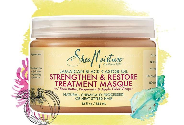 Shea Moisture Raw Shea Butter Deep Treatment Masque 12 oz