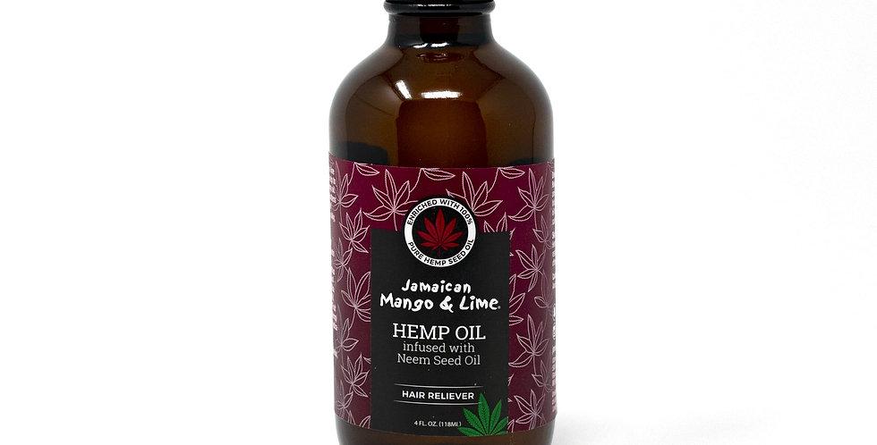 Hemp Seed Oil infused with Neem Seed Oil 4oz