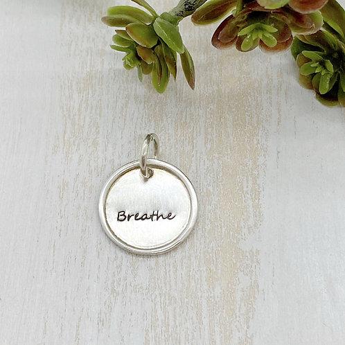 Breathe Framed Charm