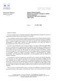 Projet de nouveau parc éolien au large des côtes normandes : mon courrier à la Ministre de la transi