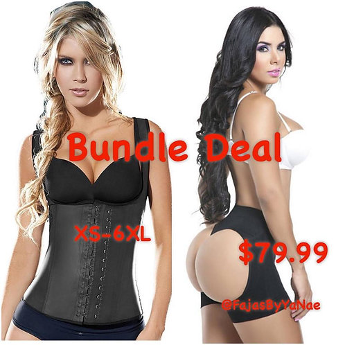 Ultimate Vest with Tummy flattening Butt Lifter
