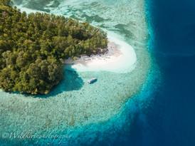 無人島 ラジャアンパット、インドネシア