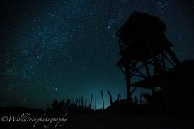 星空と展望台 カボプルモ、メキシコ