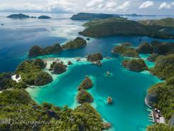 ピアニモ島 ラジャアンパット、インドネシア