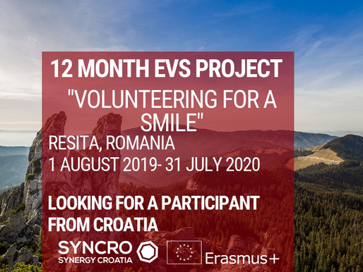 EVS│Resita, Romania│Volunteering for a smile