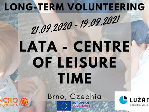 LONG-TERM VOLUNTEERING (ESC)│BRNO, CZECHIA 🇨🇿│LATA - CENTRE OF LEISURE TIME