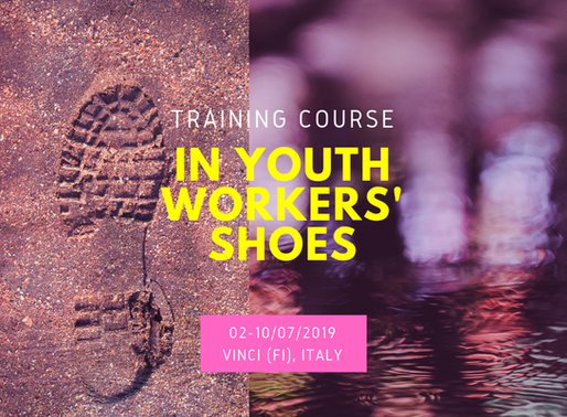 TRAINING COURSE│ Vinci, Italy 🇮🇹 │ In Youth Workers' Shoes