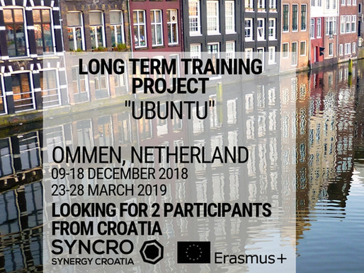 LONG TERM TRAINING PROJECT │ Ommen, Netherland │ UBUNTU