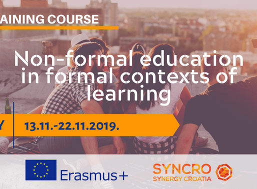 TRAINING COURSE │ Borrello, Italy IT│ Non-formal education in formal contexts of learning