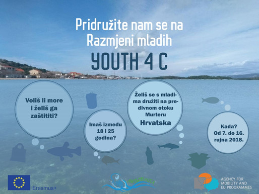 YOUTH EXCHANGE │YOUTH FOR 4 C | Murter, Croatia