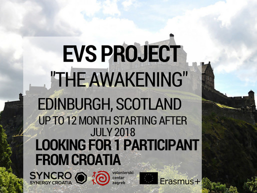 EVS │ Edinburgh, Scotland │ Grassmarket Community Project