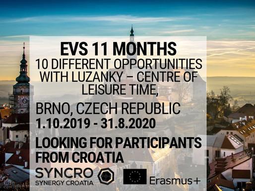 EVS │ BRNO, CZECH REPUBLIC │ Luzanky – centre of leisure time