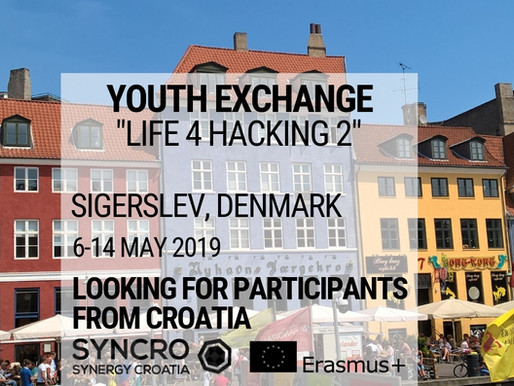 Youth exchange│ Sigerslev, Denmark (🇩🇰) │ Life 4 hacking 2