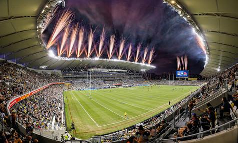 Opening of Queensland Country Bank Stadium