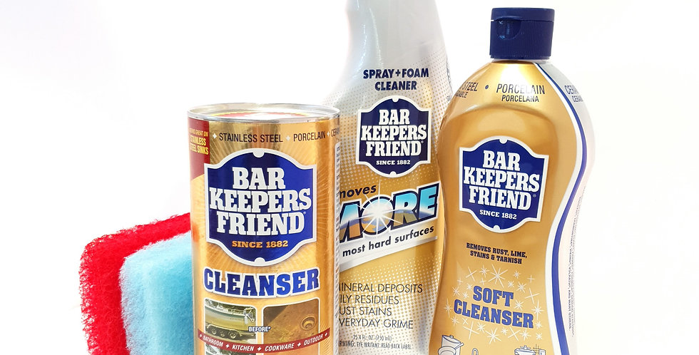 Bar Keepers Friend Spring Cleaning Kit x 3