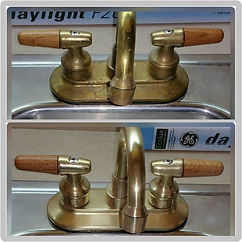 Bar Keepers Friend Cleans Taps!