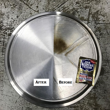 Bar Keepers Friend Stain Removal