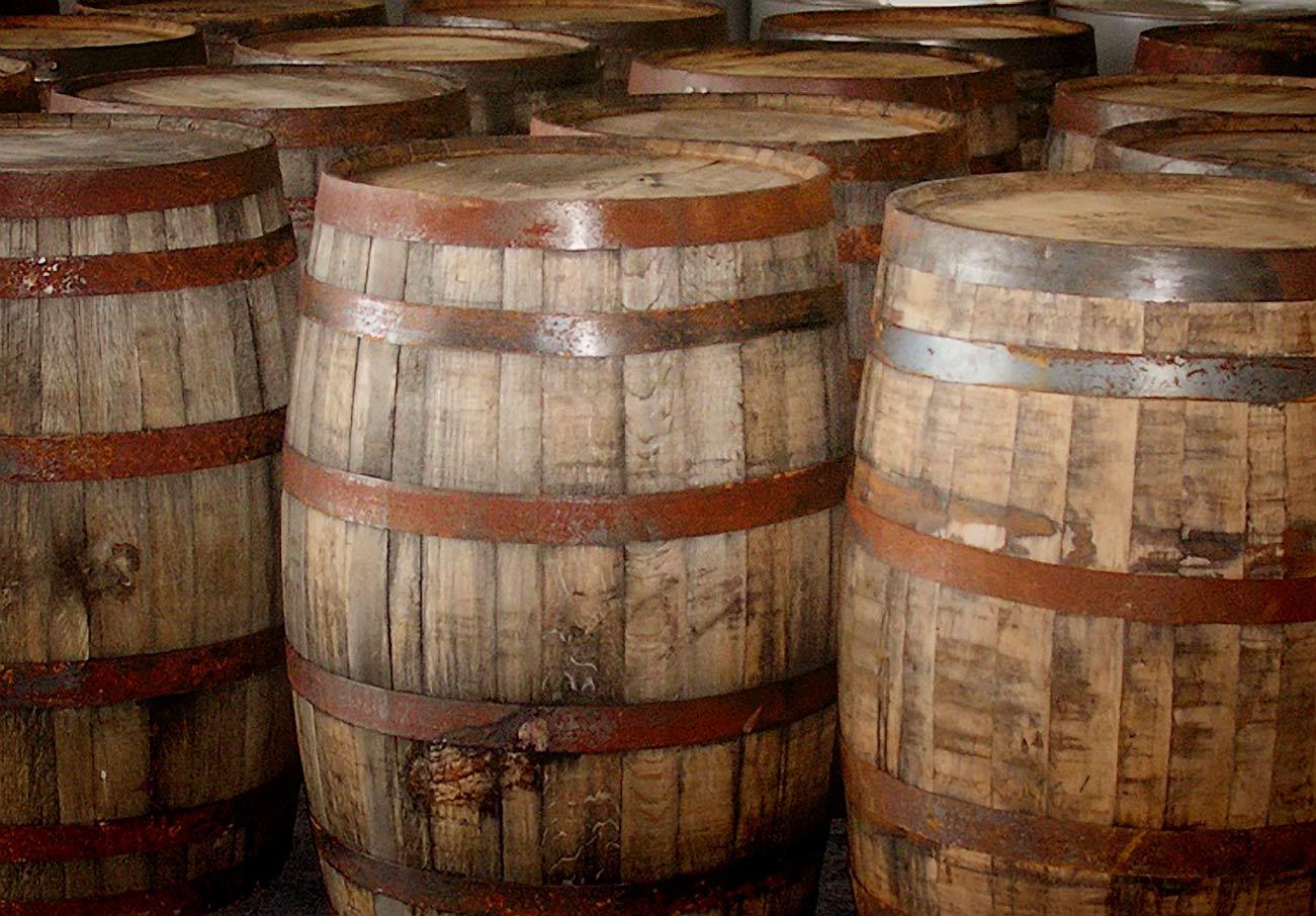 55 gallon Whiskey Barrels