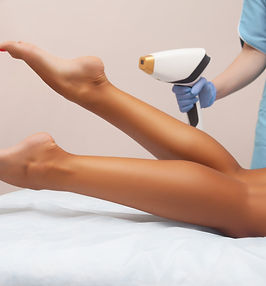 Laser epilation and cosmetology in beaut