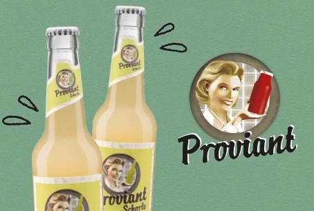 Der beste Geschmack kommt von Proviant: Bio-Apfelschorle überzeugt Stiftung Warentest