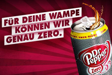 Kein Zuckerschlecken mit dem neuen Dr Pepper Zero