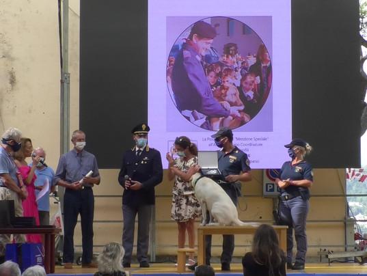 MENZIONE SPECIALE premiazione con Ilaria Cavo, Assessore Regione Liguria