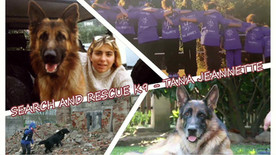 SEARCH AND RESCUE K9 – TANA JEANNETTE