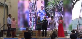 ARWEN premiata da Elisabetta Abamo, Assessore Comune di Camogli