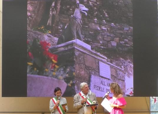 La vicinanza tra il Premio e il Comune di Castel San Giovanni (PC), qui rappresentato dal Vice Sindaco Corrado Pozzi