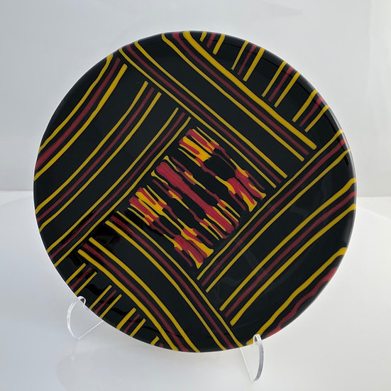 Original fused glass bowl