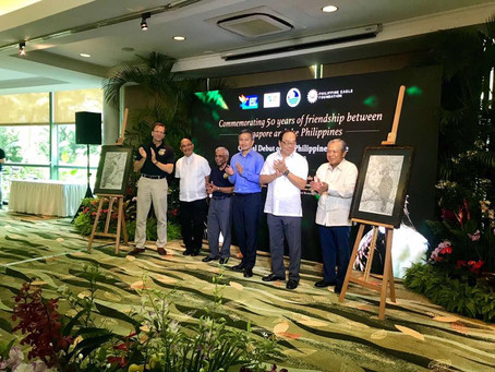 The Official Debut of the Philippine Eagles in Singapore