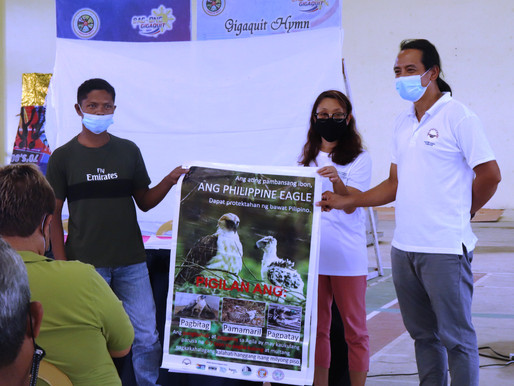 Education Outreach for the Indigenous Mamanwa community to Protect the Philippine Eagle