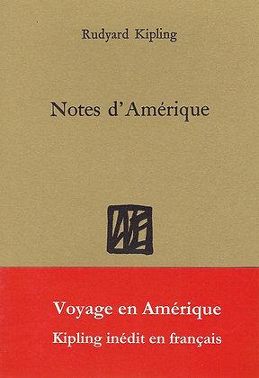 Rudyard Kipling - Notes d'Amérique