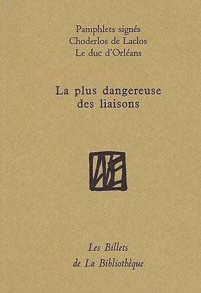 Choderlos de Laclos et Philippe  Égalité - La plus dangereuse des liaisons
