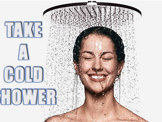 5 Reasons To Take A Cold Shower