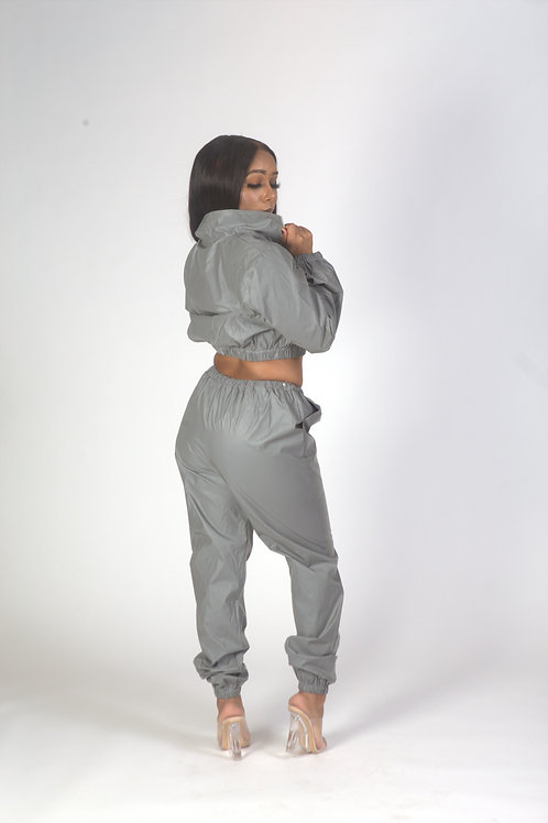 Reflective Track Suit