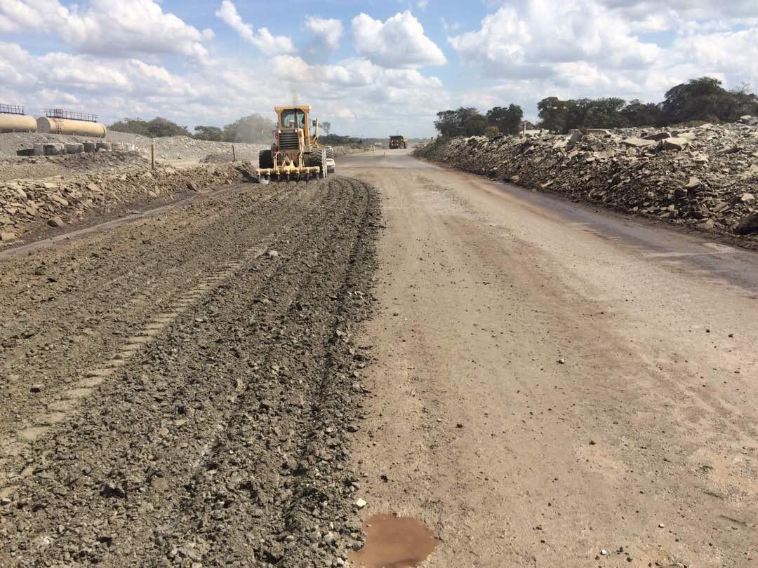 Mining Roads preparation