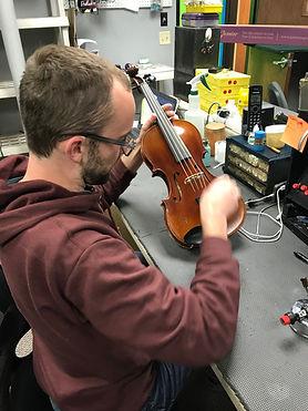 Violin Repair. String Repair. cello repair.