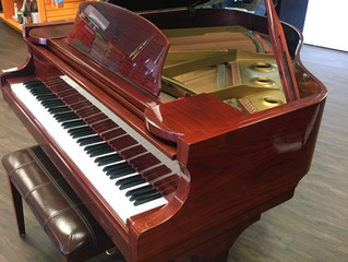 Beautiful G-80A Cherry Red Grand Piano $2,000 - Great Price