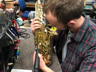 Saxophone Neck Repair