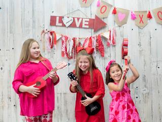 Valentine Photo Shoot Day