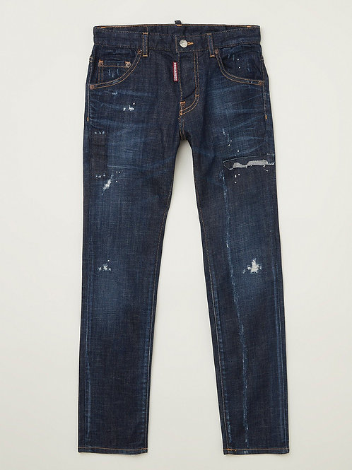 Dsquared2 spijkerbroek blauw