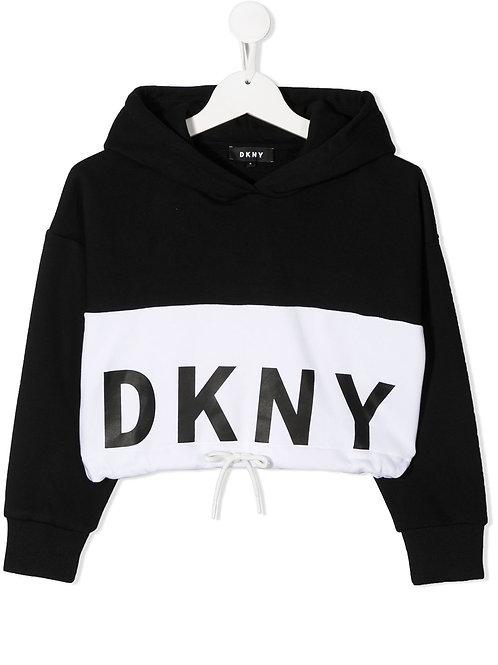 DKNY Hoodie met colour blocking