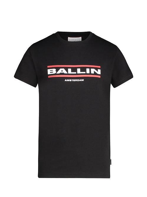 Ballin t-shirt zwart