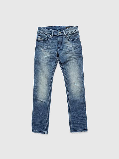 Spijkerbroek diesel sleenker blauw