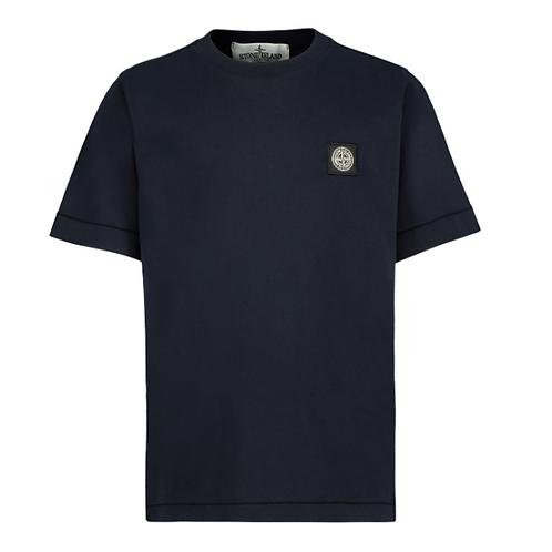 Stone Island t-shirt blauw