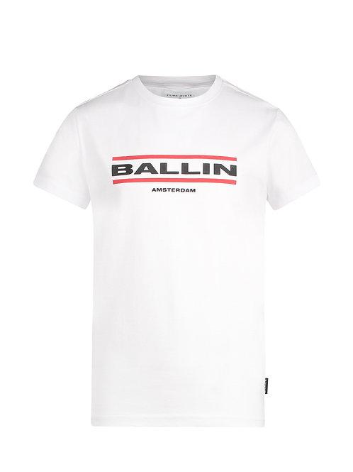 Ballin t-shirt wit