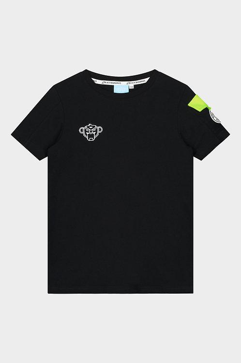 Black Bananas rank t-shirt black/yellow